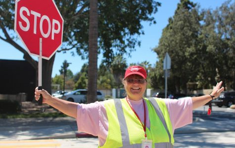 Kathy McKean: bringing smiles to the crosswalk