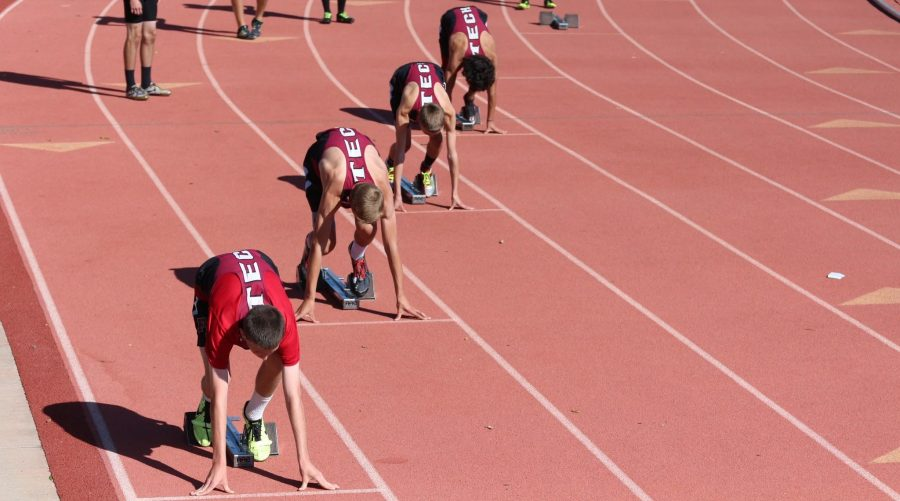 Track athletes race in CIF preliminaries and finals