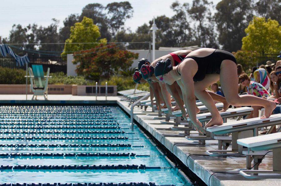 Foothill swim defeats Santa Paula in final home meet (11 photos)