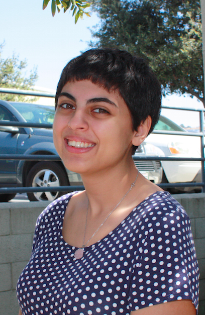 Alexia Khodanian hopes to become an illustrator. Credit: Lucy Knowles/The Foothill Dragon Press