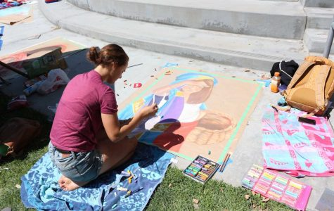 Annual Chalk Festival brings color to campus (6 photos, video)