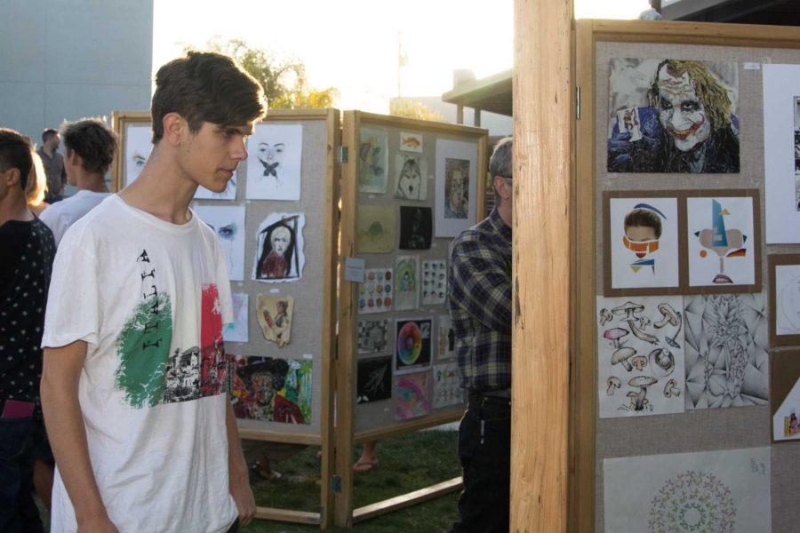 Annual Art Show celebrates high school talent (10 photos, video)