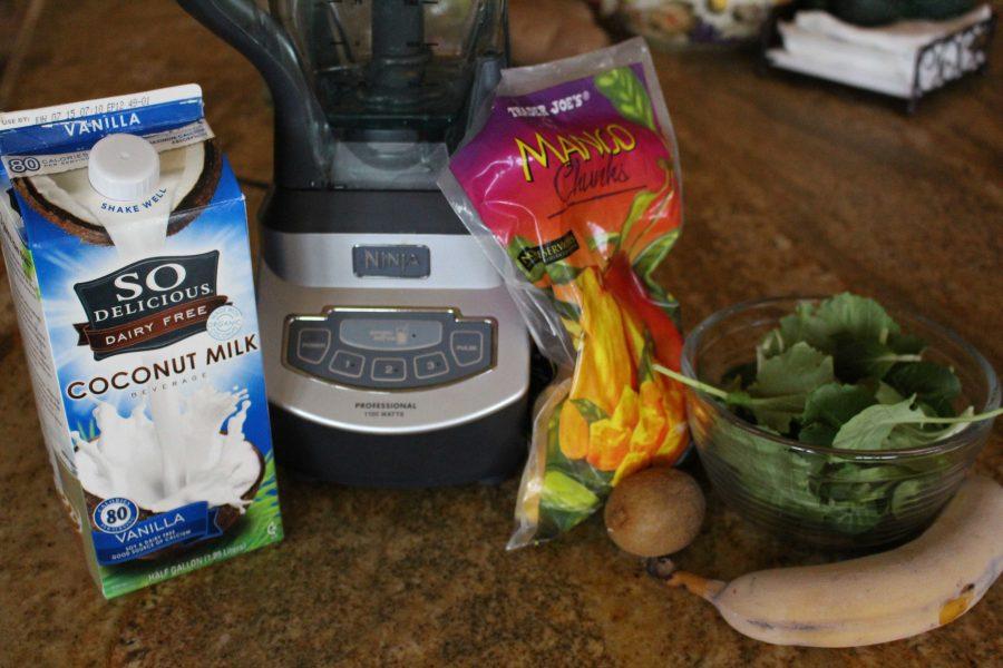 Recipe: Creamy, healthy green smoothie
