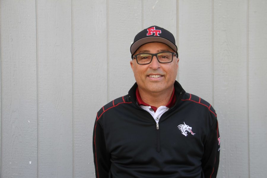 Coach+Mark+Wipf+has+enjoyed+his+first+season+working+with+the+Foothill+boys%27+golf+team.+Credit%3A+Carrie+Coonan%2FThe+Foothill+Dragon+Press