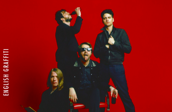 The Vaccines pursue a current sound with English Graffiti