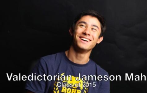 Valedictorian Jameson Mah