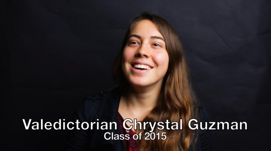Valedictorian Chrystal Guzman