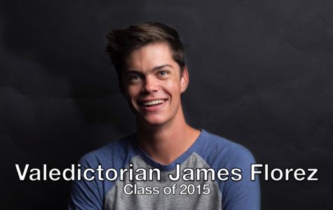 Valedictorian James Florez