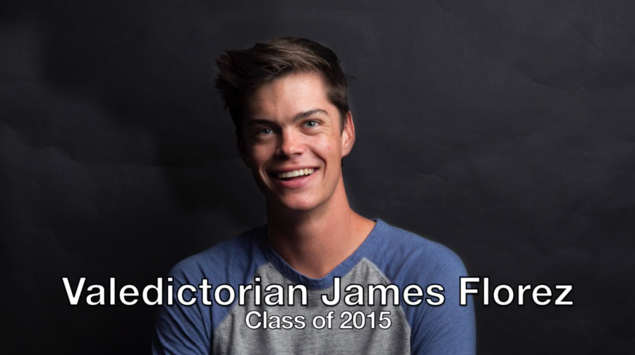 Valedictorian James Florez