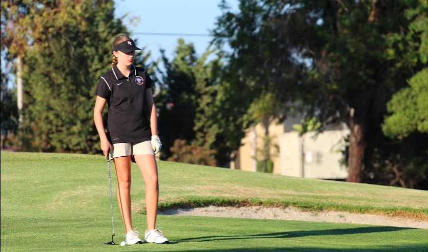 Girls' golf comes out on top against Santa Paula in first home match