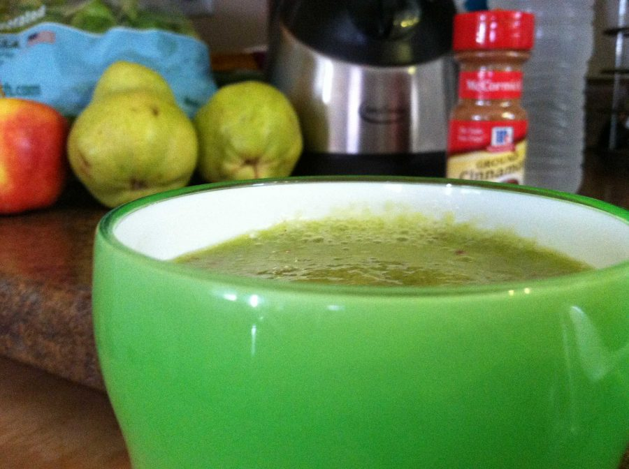 Recipe%3A+Pear+and+apple+green+smoothie