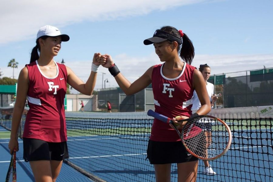 Girls tennis defeats Villanova in first home match of the season