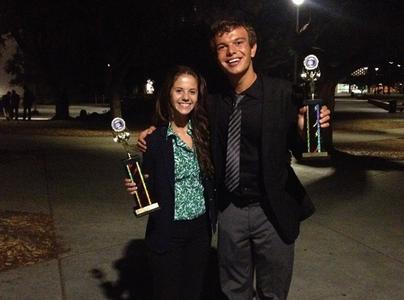 Speech and Debate team sweeps at Fullerton invitational