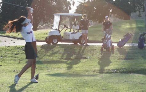 Girls' Golf Last Home Match (9 photos)