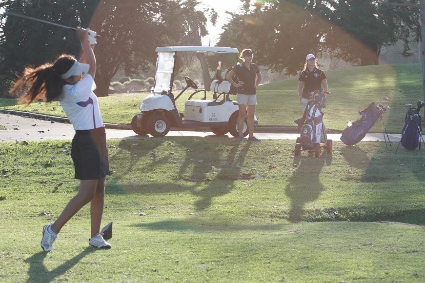 Girls' golf faces close defeat at last home match of the season
