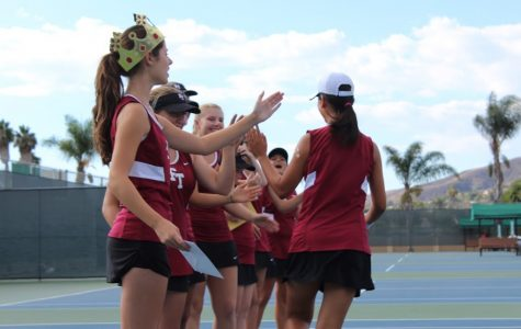 Girls' Tennis Final Home Match (9 photos)