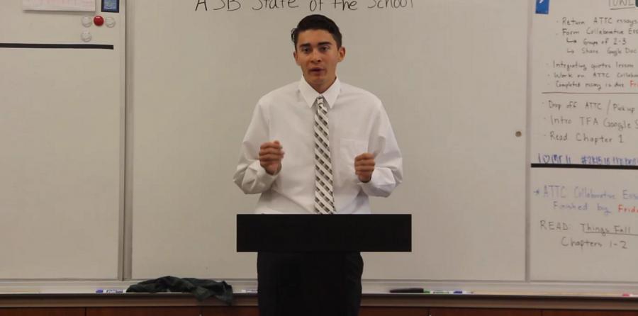 State of the School Address Q1: Noah Greenslit Video
