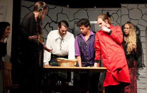 "Foothill drama performs ""Dr. Evil and the Basket of Kittens"""