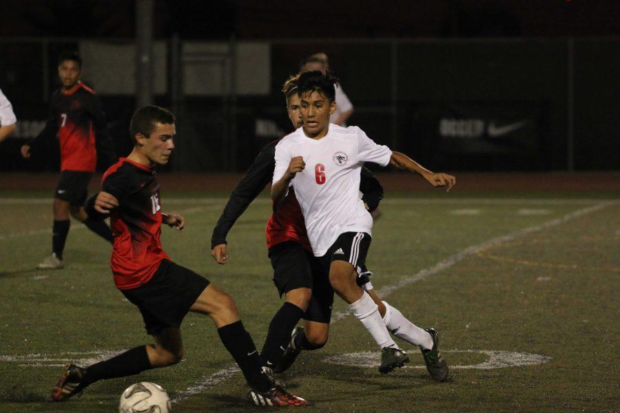 Boys' Soccer Home Game (38 photos)