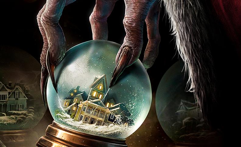 Krampus, the demonic Santa movie, oddly entertains