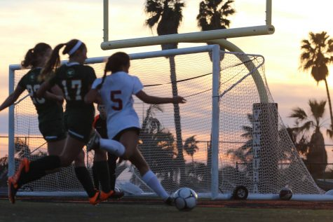 Girls' soccer falls short in a 1-0 loss against the Cardinals