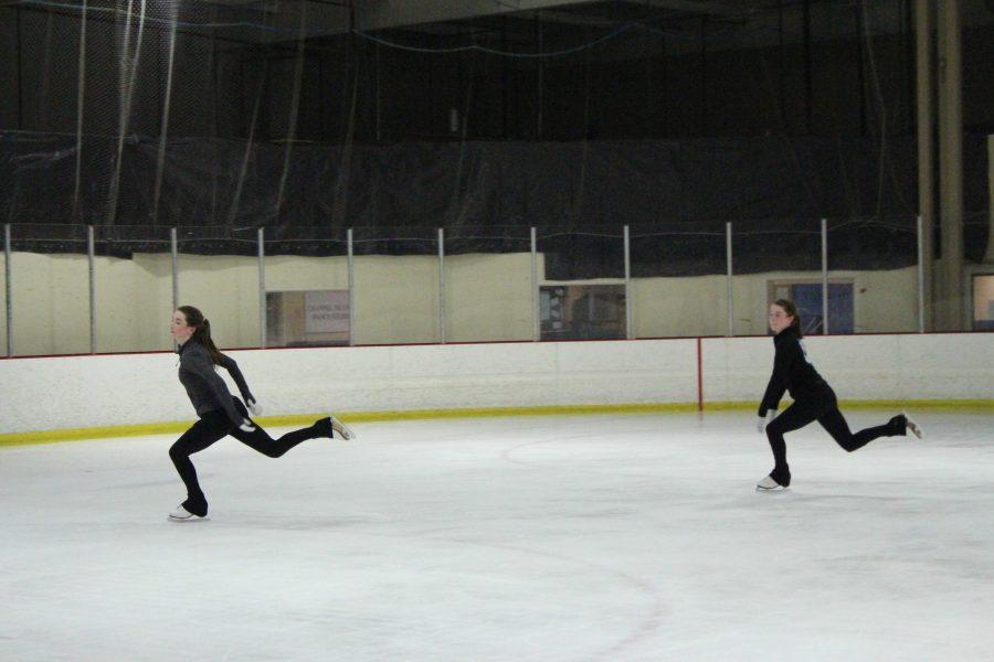 Lane and Noel Domke: The figure skating twins