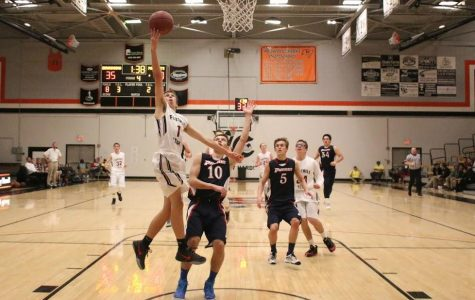 Boys' Basketball First Home Game (22 photos)