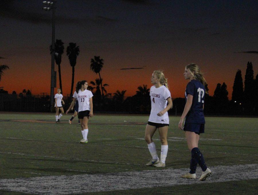 Girls' soccer team overwhelms Villanova 5-0 in final home game