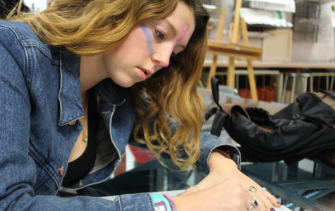 Chloe Yahner paints her own path