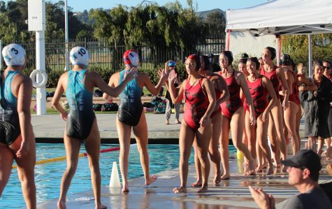 Girls' water polo defeats Malibu 8-6 at intense final home game