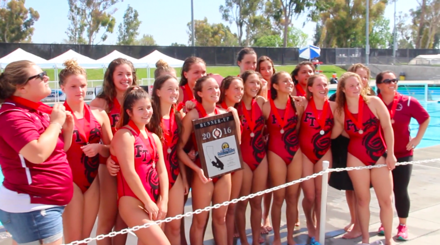 Girls' Water Polo Final Game Video