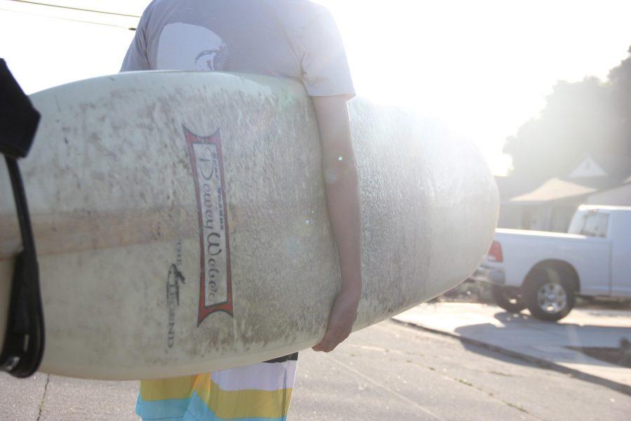 Surfing through senior year