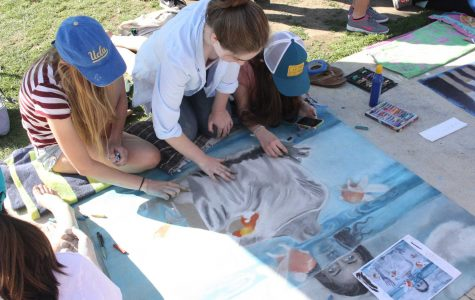Chalk festival brightens up campus