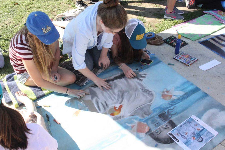 Chalk+festival+brightens+up+campus