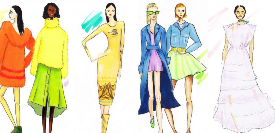 Patterns+and+materials+at+Paris+Fashion+Week+2016