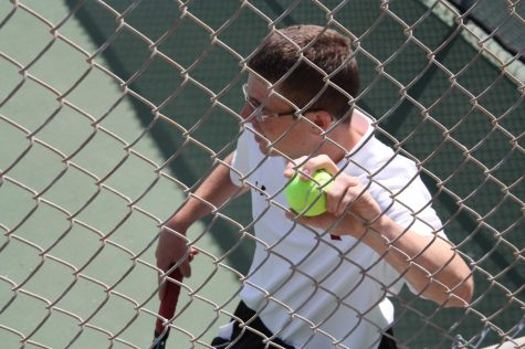Boys' Tennis takes home first ever CIF match victory