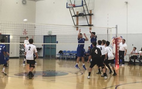 Boys' Volleyball smashes Fillmore 3-0 in final home game