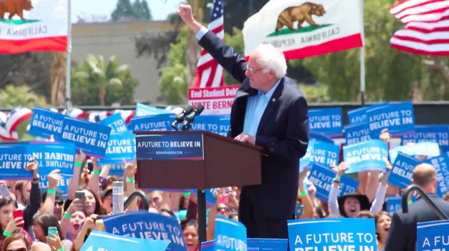 Bernie+Sanders+Video