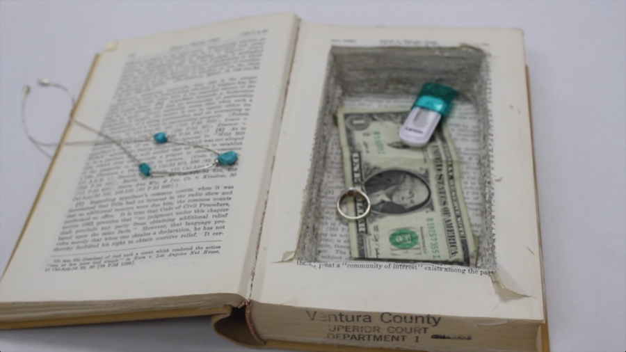 How to: Turn an old book into a safe