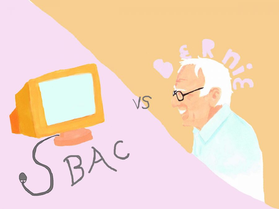 The+Sanders+rally+and+the+SBAC+are+both+educational