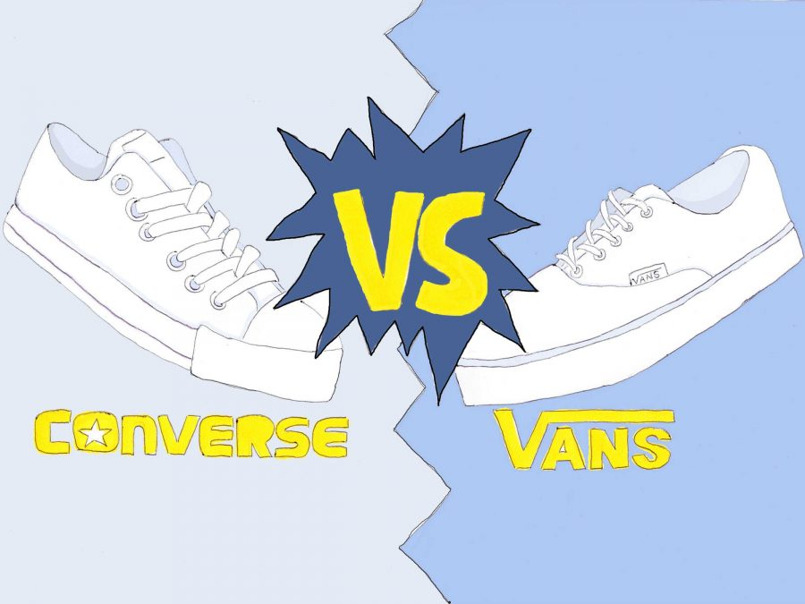69dccd91050 Converse vs. Vans  The shoe showdown – The Foothill Dragon Press