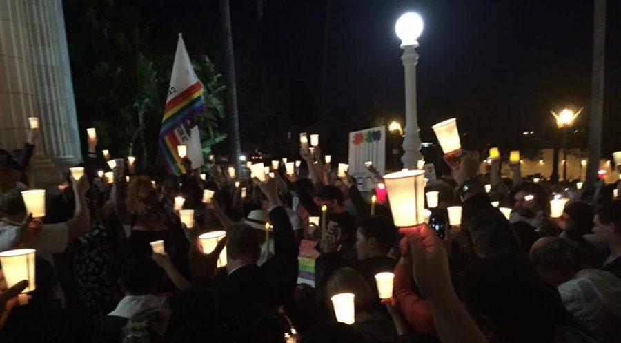 Community holds vigil for Orlando shooting victims