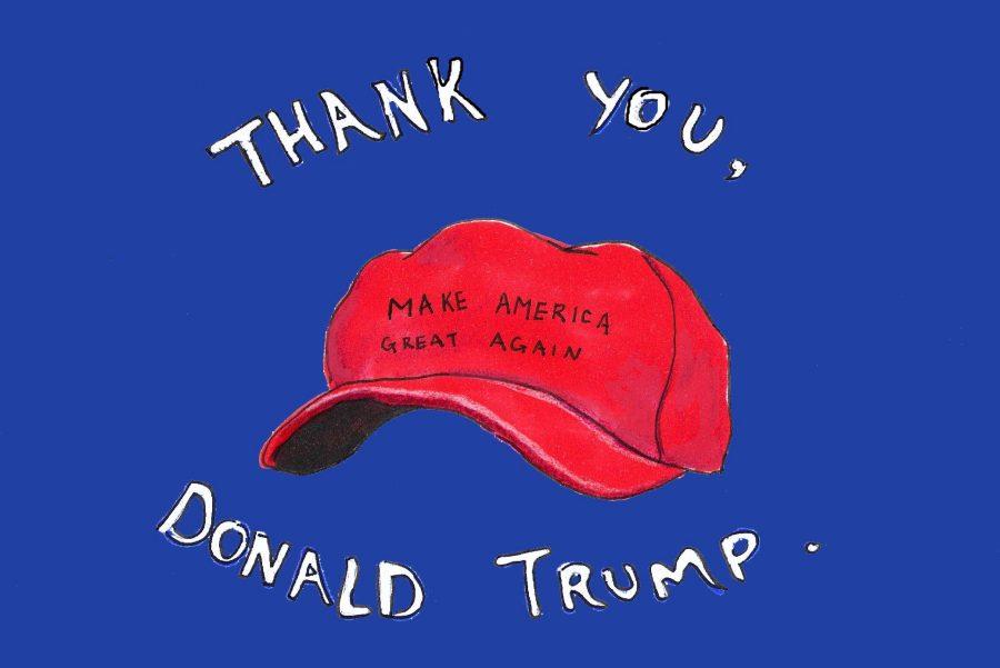 Thank you Donald Trump