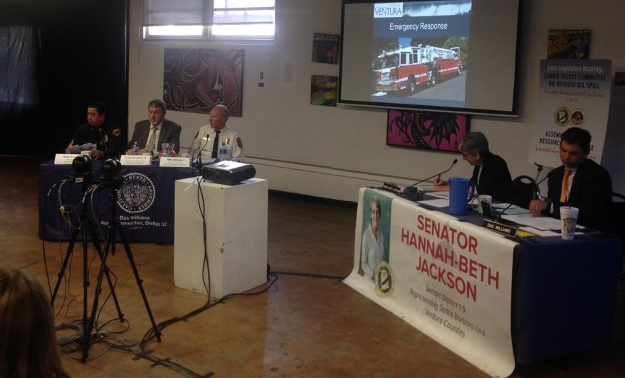 Answers begin to emerge at hearing on Ventura oil spill