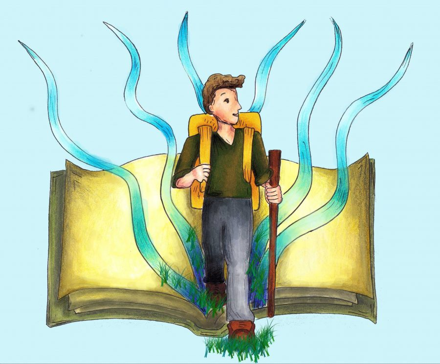 Opinionist Sam Bova believes there's more to life than robotic education and perfect jobs. Stop and smell the flowers! Credit: Rachel Chang / The Foothill Dragon Press.