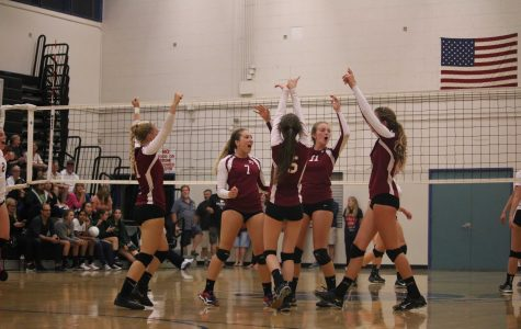 Girls' volleyball falters in first home game of season