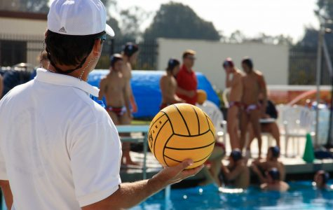 Boys' water polo falls to Carpinteria in home game, 15-4