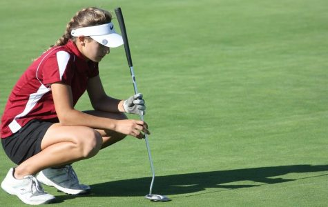 Girls' golf team competes in League Individual's Championships
