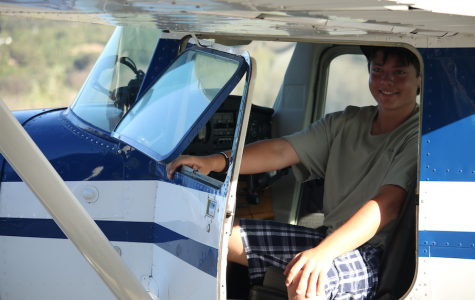Foothill junior Lucas Reed flies solo for the first time