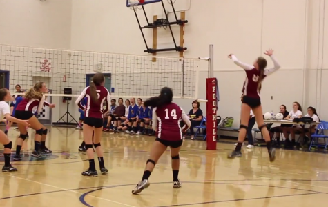 Girls' Volleyball Home Game